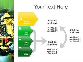 Robots dans l'industrie automobile Modèles des présentations  PowerPoint - Diapositives 16