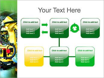Robots dans l'industrie automobile Modèles des présentations  PowerPoint - Diapositives 23
