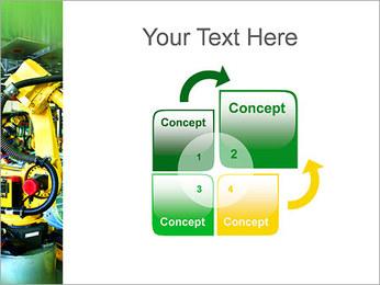 Robots dans l'industrie automobile Modèles des présentations  PowerPoint - Diapositives 5