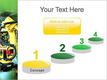 Robots dans l'industrie automobile Modèles des présentations  PowerPoint - Diapositives 7