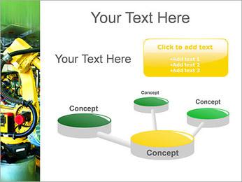 Robots dans l'industrie automobile Modèles des présentations  PowerPoint - Diapositives 9