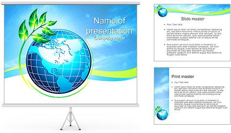 Шары шаблон для презентаций powerpoint