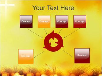 Champ jaune Modèles des présentations  PowerPoint - Diapositives 10
