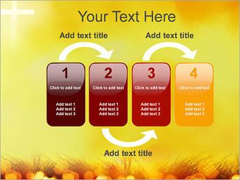 Champ jaune Modèles des présentations  PowerPoint - Diapositives 11