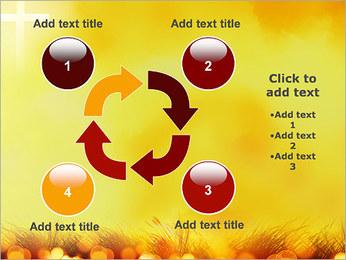 Champ jaune Modèles des présentations  PowerPoint - Diapositives 14