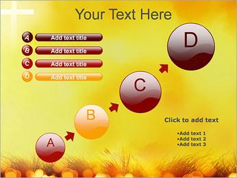 Champ jaune Modèles des présentations  PowerPoint - Diapositives 15