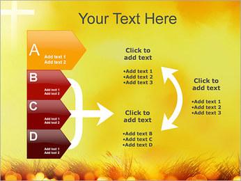 Champ jaune Modèles des présentations  PowerPoint - Diapositives 16