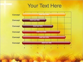 Champ jaune Modèles des présentations  PowerPoint - Diapositives 17