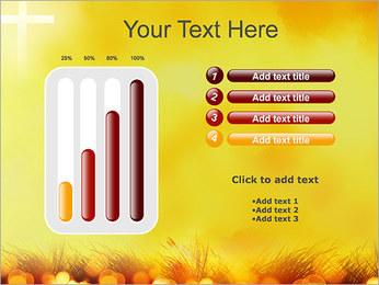Champ jaune Modèles des présentations  PowerPoint - Diapositives 18