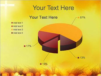 Champ jaune Modèles des présentations  PowerPoint - Diapositives 19