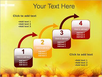 Champ jaune Modèles des présentations  PowerPoint - Diapositives 20