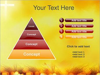 Champ jaune Modèles des présentations  PowerPoint - Diapositives 22