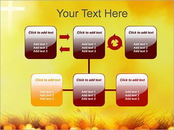 Champ jaune Modèles des présentations  PowerPoint - Diapositives 23