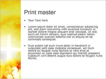 Champ jaune Modèles des présentations  PowerPoint - Diapositives 24