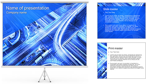 Circulation Urbaine Modèles des présentations  PowerPoint