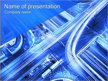 City Traffic PowerPoint Template