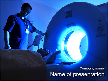 Tomography Scanning PowerPoint Template