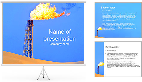 powerpoint templates free oil and gas image collections, Presentation templates