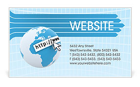Web Concept Business Card Template