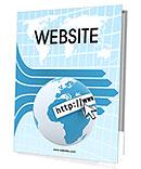 Web Concept Presentation Folder