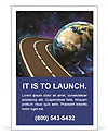Space Travels Concept Ad Templates