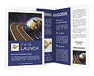 Space Travels Concept Brochure Template
