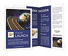 Space Travels Concept Brochure Templates
