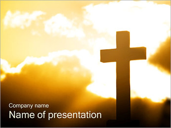 Cross PowerPoint Template