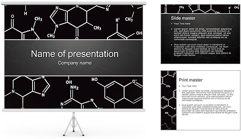 Chimie Concept Modèles des présentations  PowerPoint