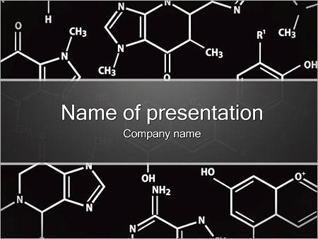 Chemistry Concept Powerpoint Template  Backgrounds Id