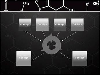 Chimie Concept Modèles des présentations  PowerPoint - Diapositives 10