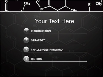 Chimie Concept Modèles des présentations  PowerPoint - Diapositives 3