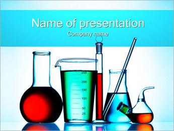 Flacons chimiques Modèles des présentations  PowerPoint - Diapositives 1