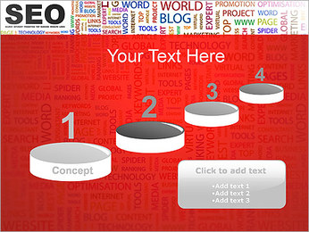 SEO Concept PowerPoint Template - Slide 7