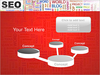 SEO Concept PowerPoint Template - Slide 9