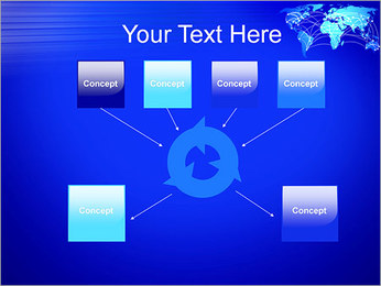 World Communication Concept PowerPoint Templates - Slide 10