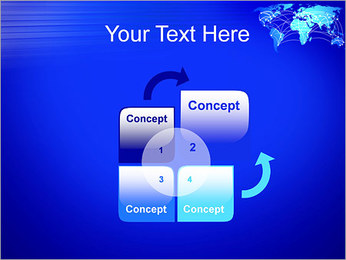World Communication Concept PowerPoint Templates - Slide 5