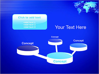World Communication Concept PowerPoint Templates - Slide 9