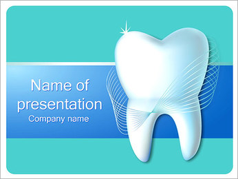 Dental Concept I pattern delle presentazioni del PowerPoint