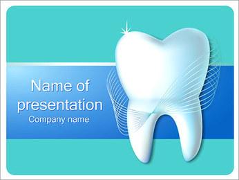 Dental Concept Sjablonen PowerPoint presentatie