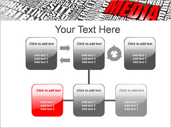 Media Tagcloud PowerPoint Templates - Slide 23