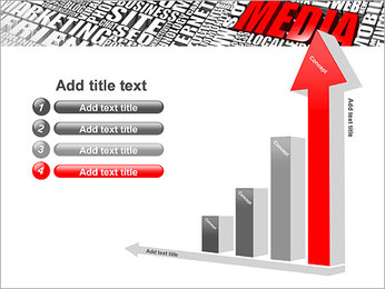 Media Tagcloud PowerPoint Templates - Slide 6