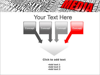 Media Tagcloud PowerPoint Templates - Slide 8