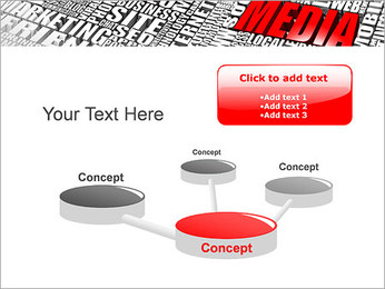 Media Tagcloud PowerPoint Templates - Slide 9