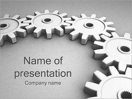 Concepto del trabajo Plantillas de Presentaciones PowerPoint