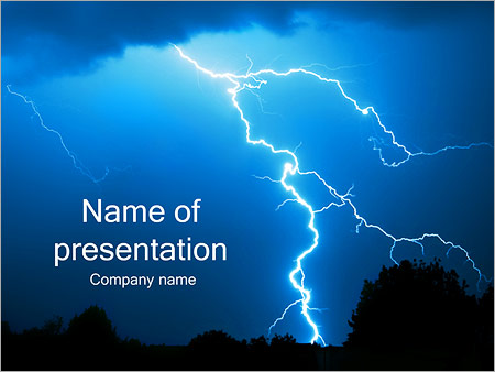 Lightning powerpoint template backgrounds id 0000002301 lightning powerpoint templates toneelgroepblik Gallery
