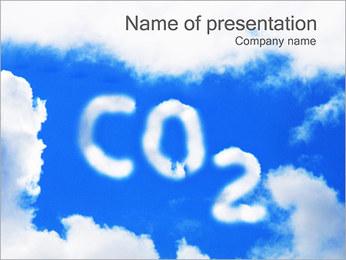 CO2 sur Sky Modèles des présentations  PowerPoint