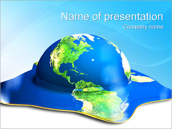 Global Catastrophe PowerPoint Template