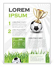 Football Cup Flyer Template