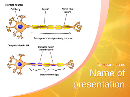 structure of neurons powerpoint template, backgrounds \u0026 googlestructure of neurons powerpoint template
